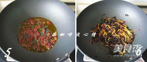 鱼香素肉丝的家常做法