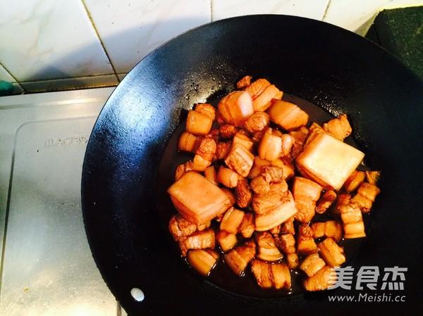 百叶结红烧肉的简单做法