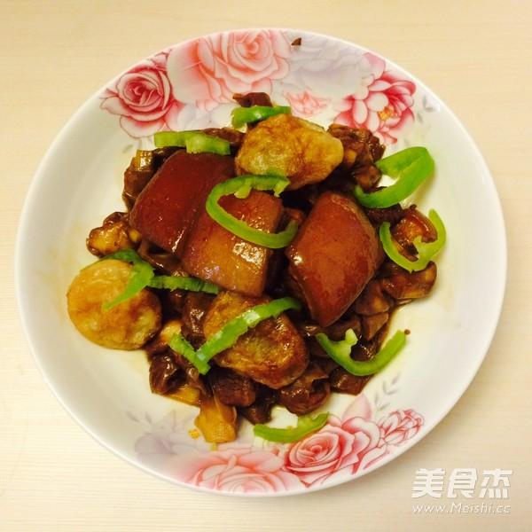 百叶结红烧肉怎么做