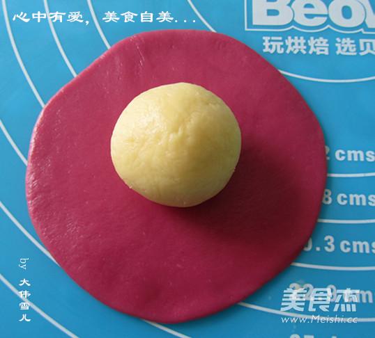 胭脂桃花酥的简单做法