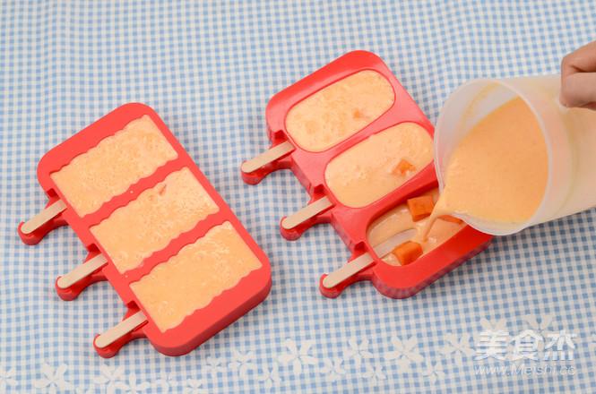 DIY木瓜椰奶雪糕怎么吃