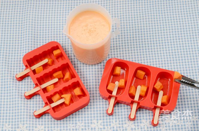 DIY木瓜椰奶雪糕的简单做法