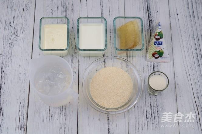 椰奶小方的做法大全