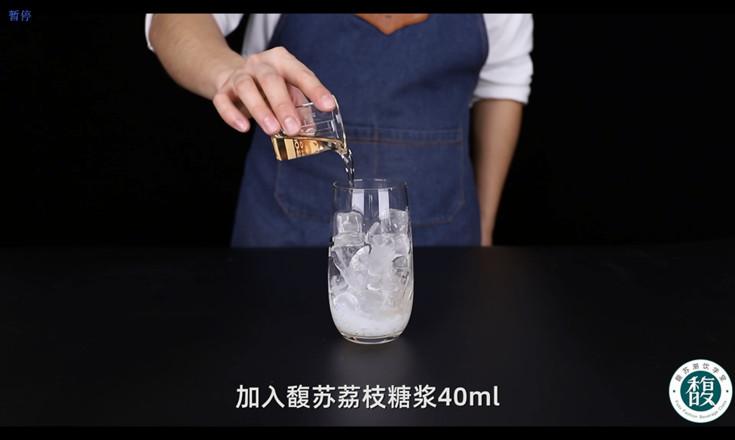 荔枝茉莉气泡水配方怎么煸