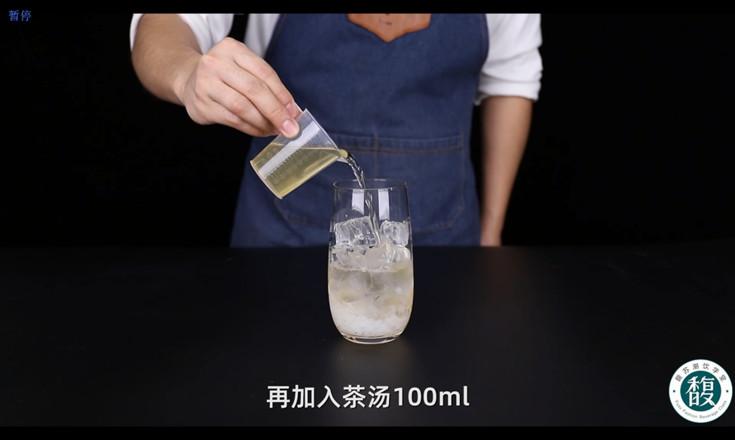 荔枝茉莉气泡水配方怎样做
