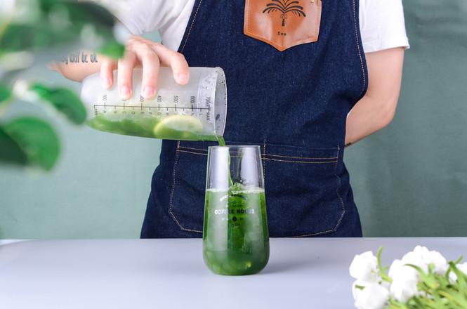 小麦草奇异果芦荟饮料的简单做法