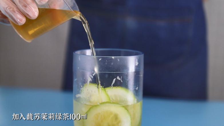 香水麦草奇异果柠檬茶/奇异果手打柠檬茶/香水柠檬奇异果绿茶怎么做
