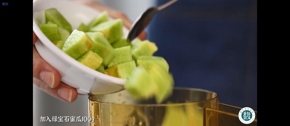 满杯椰子绿宝石/椰子福寿瓜/福寿瓜椰子水的简单做法