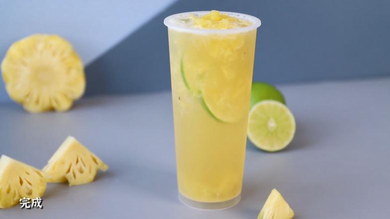 老盐凤梨/老盐凤梨柠檬茶/老盐柠檬水怎样炒