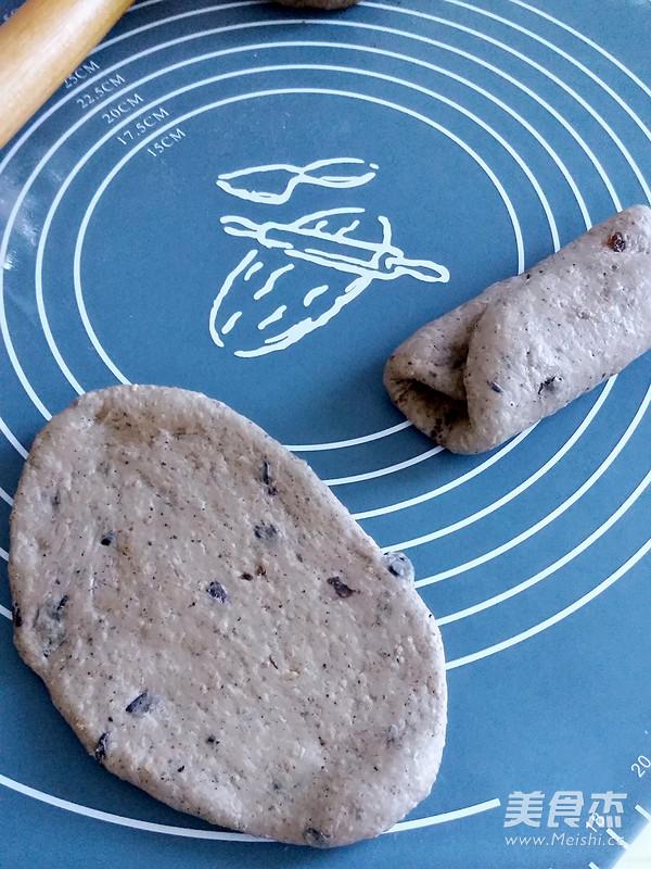 红糖酥皮养生面包的家常做法