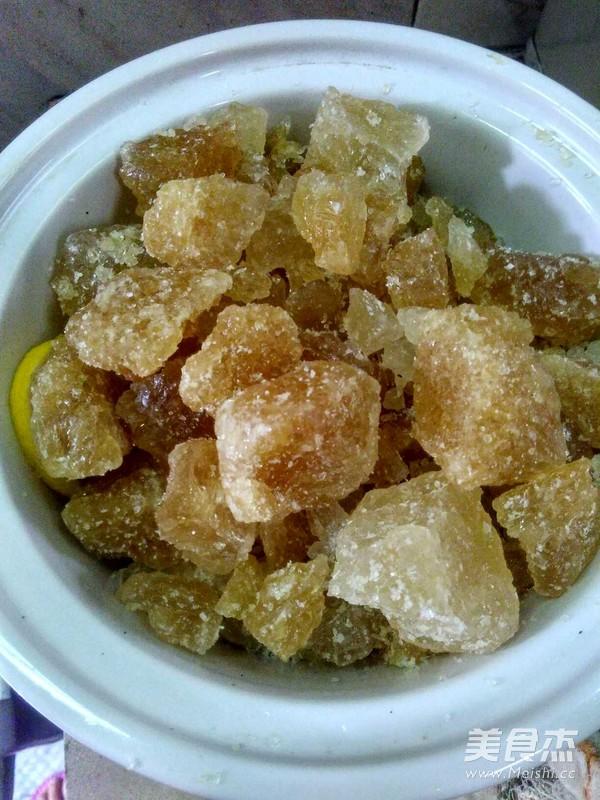 川贝陈皮冰糖柠檬膏的简单做法