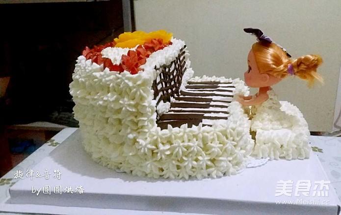 旋律音符·生日蛋糕的步骤