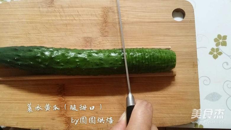 蓑衣黄瓜(酸甜口)的做法图解