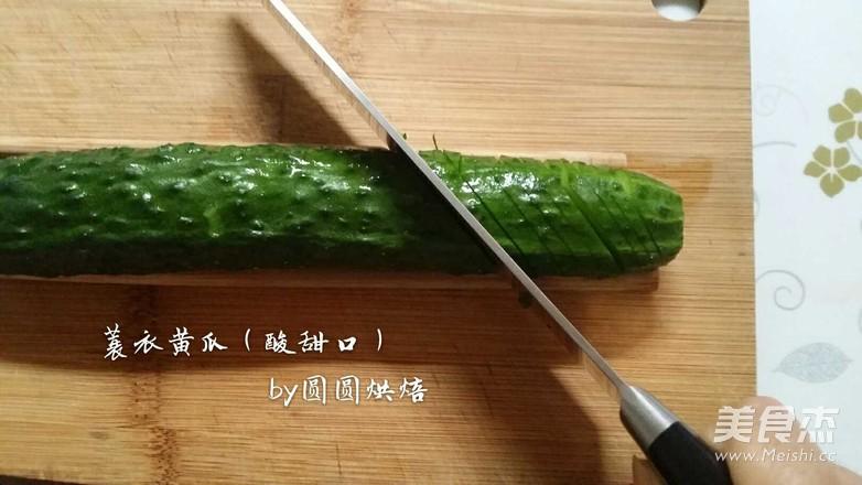 蓑衣黄瓜(酸甜口)的家常做法