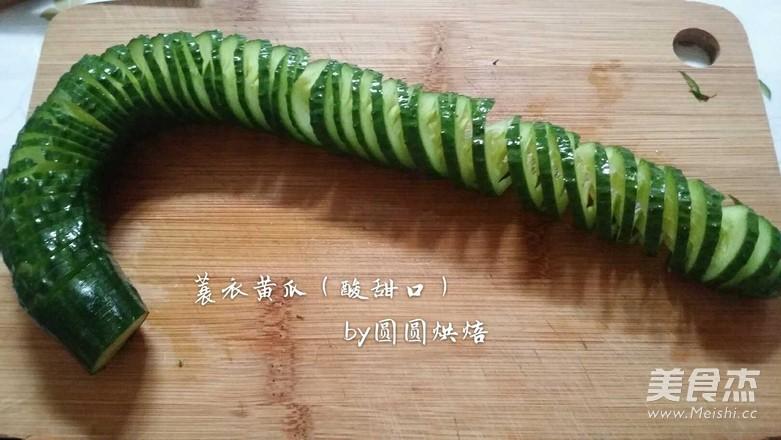 蓑衣黄瓜(酸甜口)怎么吃