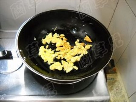 芸豆炒鸡蛋怎么炒