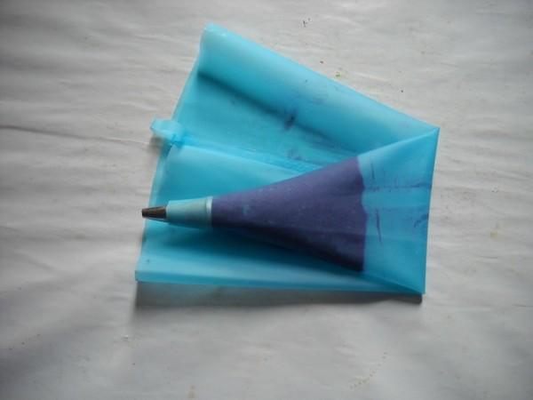 紫薯卡仕达泡芙的制作方法