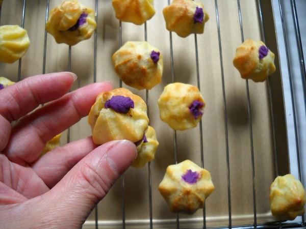 紫薯卡仕达泡芙的制作大全