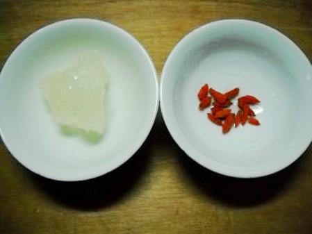 麦仁黑芝麻粥的做法图解