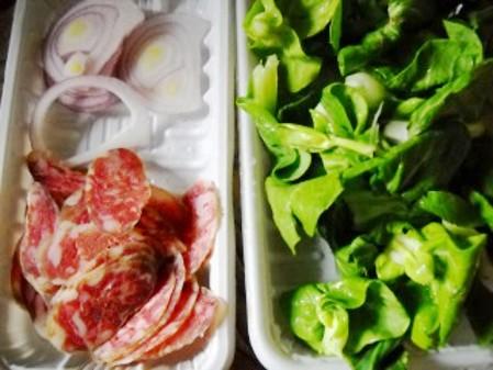 青菜腊肠炒面的做法图解
