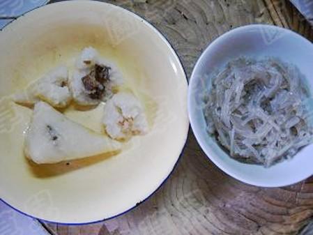 牛肉糯米粉丝馅饼的家常做法