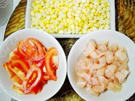 茄汁玉米鸡丁的做法图解