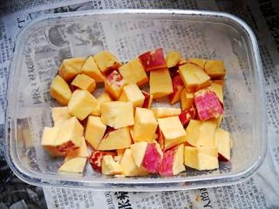 番薯冰糖莲子的做法大全