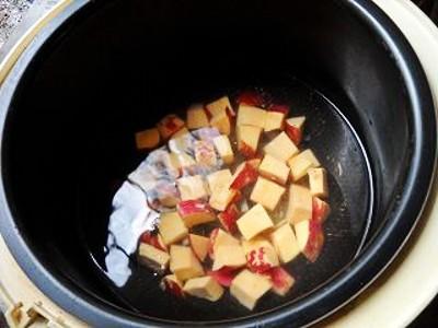 番薯冰糖莲子的简单做法
