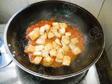 茄汁豆腐怎么煮