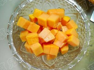 酒酿木瓜糯米丸子的家常做法