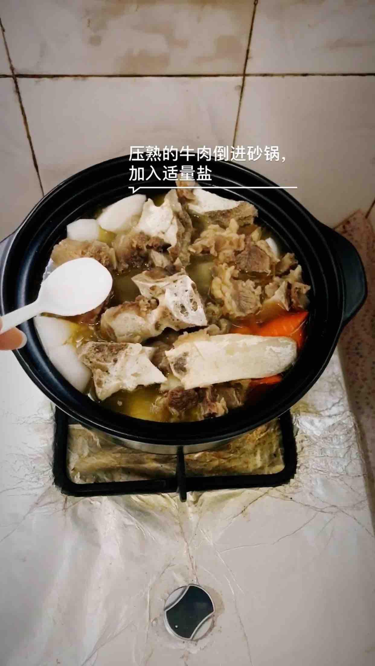 萝卜清炖牛腩怎么炒