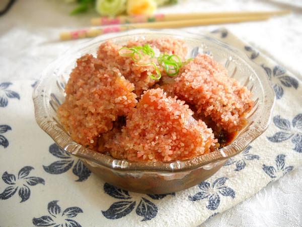 梅菜米粉肉怎样做