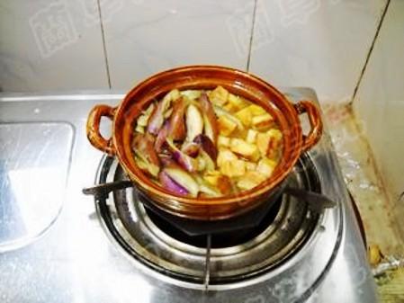 咖喱豆腐炖茄子怎样煸