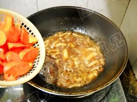 胡萝卜炖猪皮怎么煮