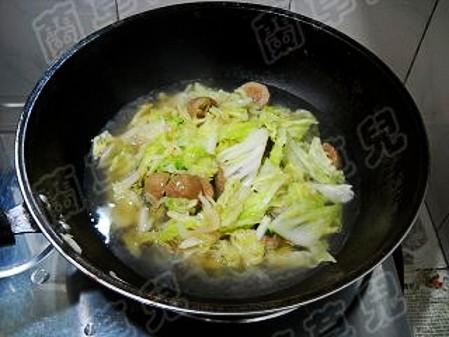 锅仔肉丸炖白菜怎么煮