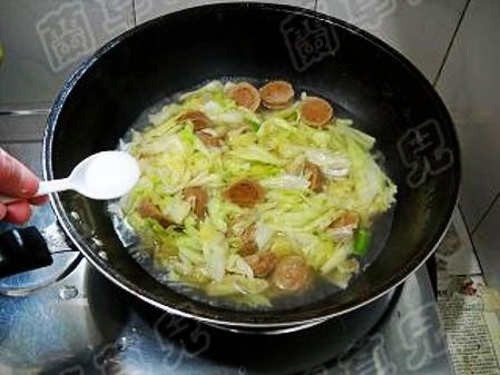 锅仔肉丸炖白菜怎么炖