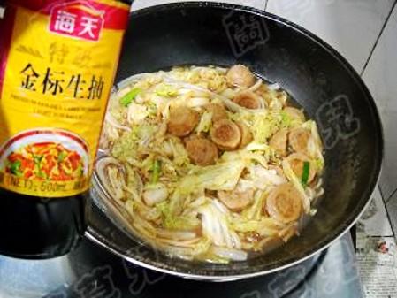 锅仔肉丸炖白菜怎样炒