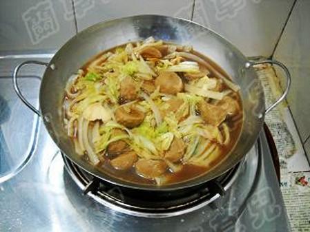 锅仔肉丸炖白菜怎样煮