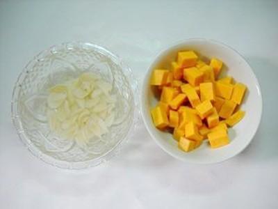 百合南瓜绿豆汤的家常做法
