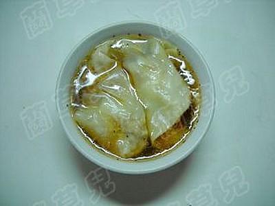 辣白菜紫虾馄饨怎么煸