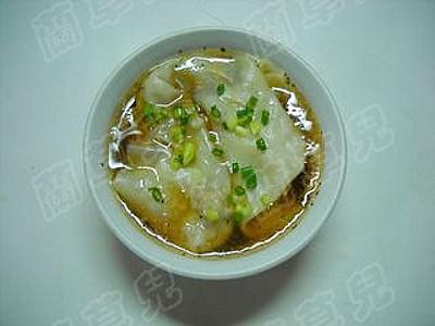 辣白菜紫虾馄饨怎样煸