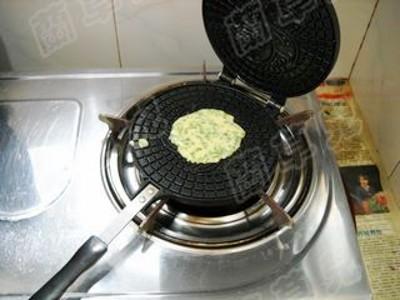 韭菜玉米饼怎么炒
