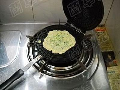 韭菜玉米饼怎么炖