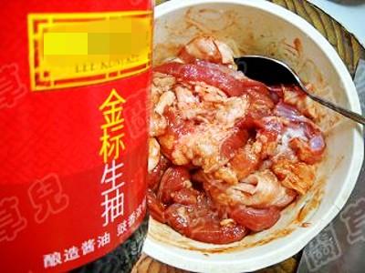 红薯粉蒸腐乳肉的简单做法