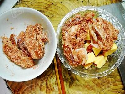 红薯粉蒸腐乳肉怎么炒