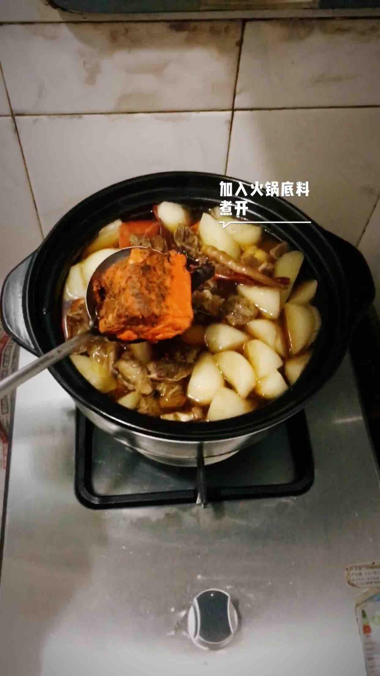 砂锅炖牛腩怎样做