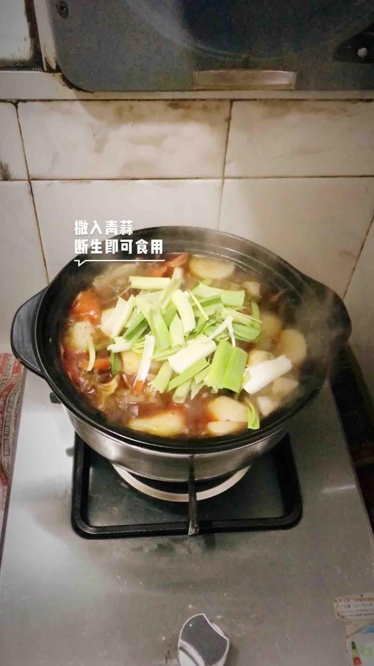 砂锅炖牛腩怎样炒
