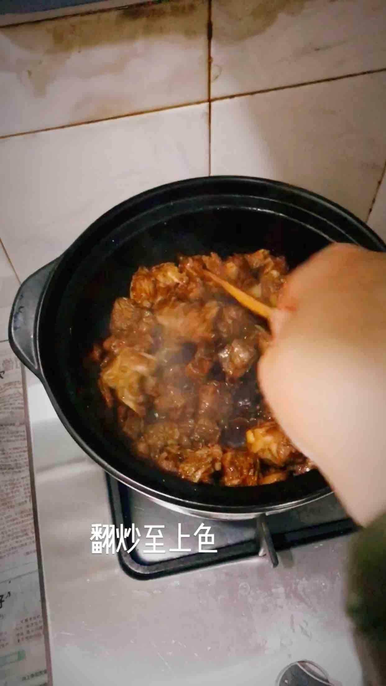 砂锅羊肉的步骤