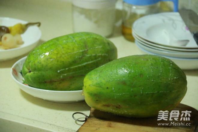 木瓜酸萝卜酸的家常做法