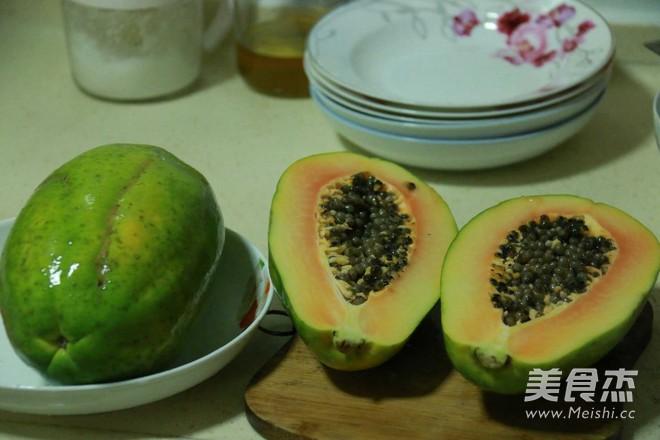 木瓜酸萝卜酸的简单做法